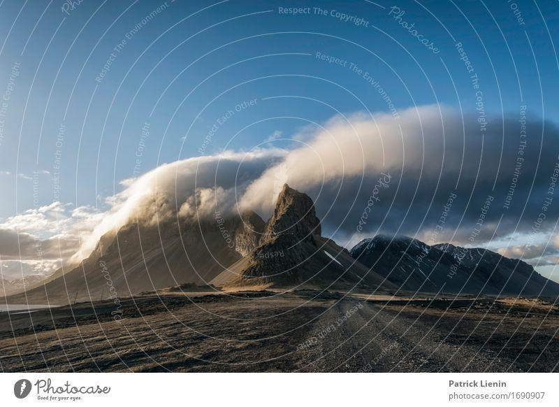 Stoksness Himmel Natur Ferien & Urlaub & Reisen schön Meer Landschaft Wolken Strand Berge u. Gebirge Umwelt Leben Erde Felsen Wetter Insel Klima