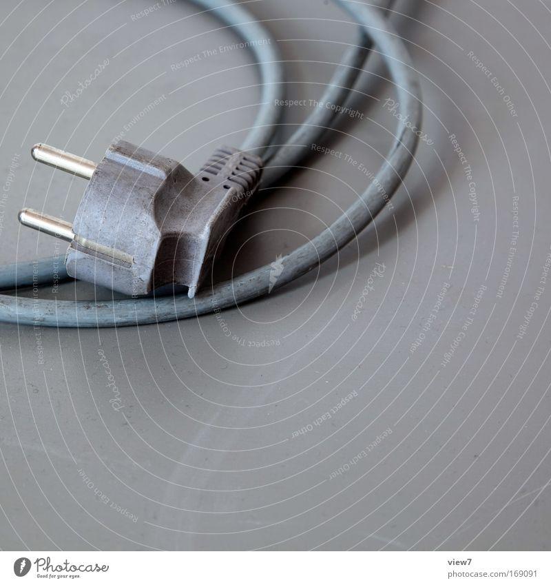 Inbetriebnahme grau dreckig Wohnung Umwelt Erfolg Industrie Energiewirtschaft Ordnung Wachstum Technik & Technologie Kommunizieren Kabel Fernsehen authentisch