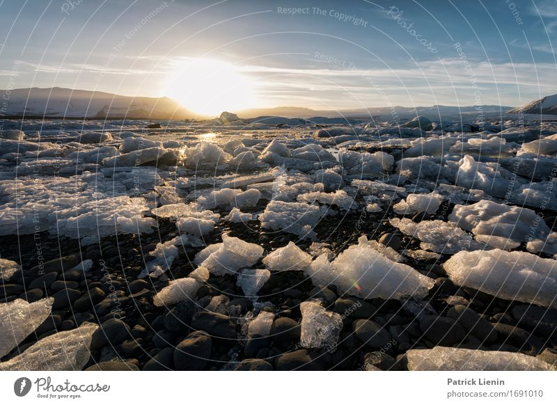 Glacier Bay Himmel Natur Ferien & Urlaub & Reisen schön Sonne Landschaft Erholung Wolken ruhig Ferne Winter Berge u. Gebirge Umwelt Leben Schnee Freiheit