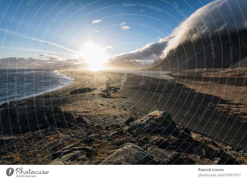 Forces of Nature schön Leben Ferien & Urlaub & Reisen Abenteuer Sonne Strand Meer Insel Berge u. Gebirge Umwelt Landschaft Urelemente Erde Himmel Wolken Klima