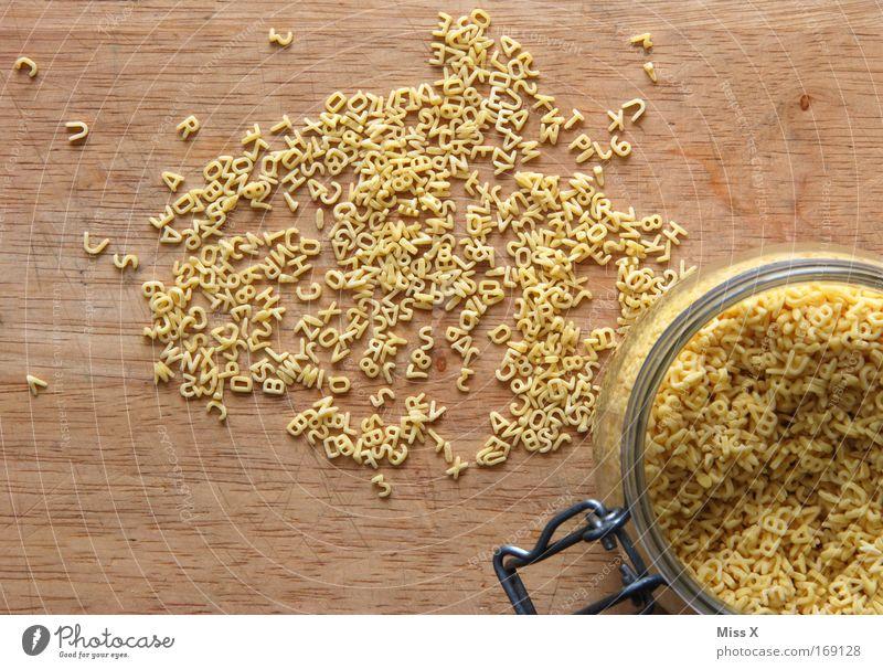 Nudelsuppe Holz Gesundheit Glas Lebensmittel Ernährung Schriftzeichen Ziffern & Zahlen Appetit & Hunger Bioprodukte Abendessen Nudeln Mittagessen