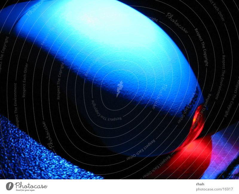 Blue light 2 blau dunkel Technik & Technologie Dinge Lichtspiel