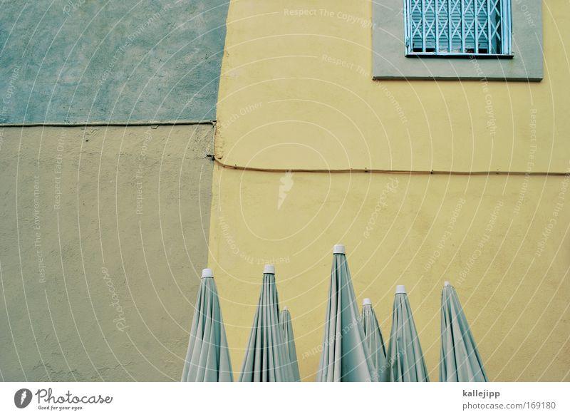 spanische armada Sonne Meer Ferien & Urlaub & Reisen Haus gelb Fenster Wärme braun gold Tourismus Reisefotografie Freizeit & Hobby Gastronomie Restaurant Café