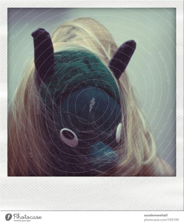 Gesichts-OP Mensch Frau weiß grün Freude schwarz Erwachsene Auge Haare & Frisuren Kopf lustig blond wild Nase verrückt