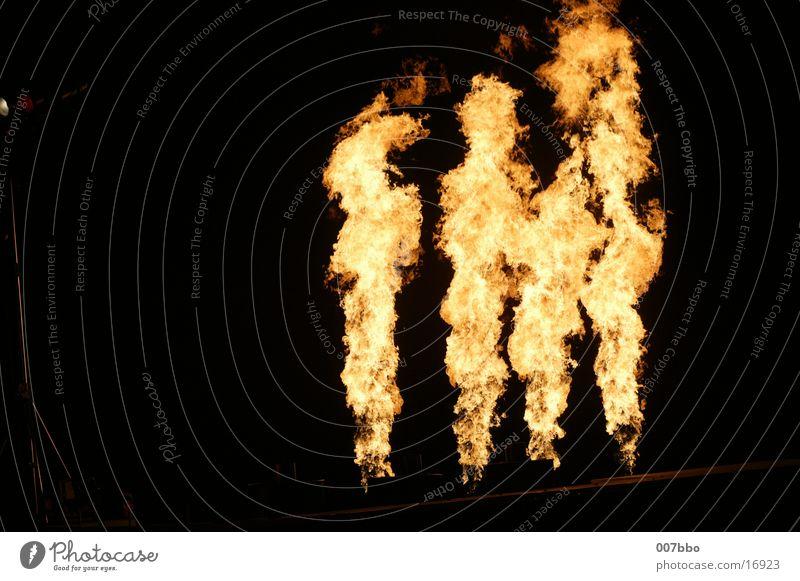 Feuer und Flamme Natur Brand heiß Theaterschauspiel