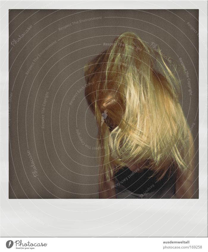 Hair Mensch Frau Jugendliche schwarz Erwachsene feminin Bewegung Haare & Frisuren grau Kopf braun blond 18-30 Jahre gold Arme frei