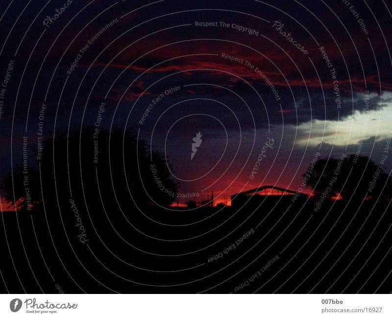 Sonnenuntergang Natur Romantik Afrika Abenddämmerung Namibia