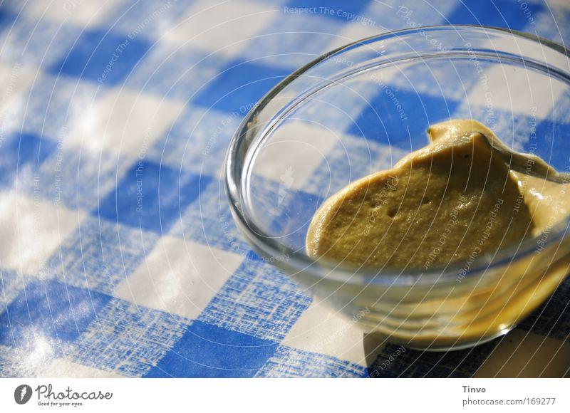 wenn's um die Wurst geht... blau Zusammensein Lebensmittel Ausflug Ernährung weich Kräuter & Gewürze Dienstleistungsgewerbe Restaurant kariert