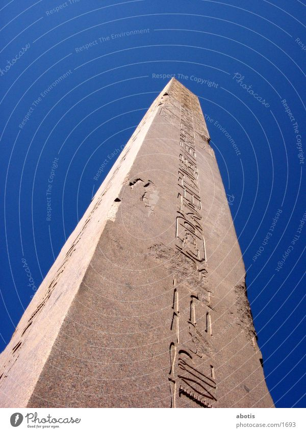 Obelisk Ägypten Tempel Buenos Aires Luxor Obelisk