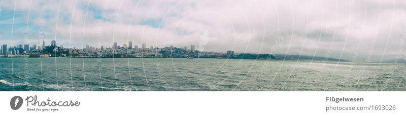 Ich will zurück nach San Francisko Ferien & Urlaub & Reisen Wasser Erholung Ferne Freiheit Tourismus Wasserfahrzeug Ausflug USA Abenteuer entdecken Skyline