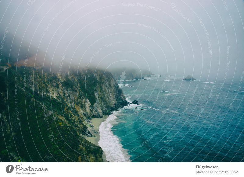 Pacific 1 Ferien & Urlaub & Reisen Tourismus Ausflug Abenteuer Ferne Freiheit Umwelt Natur Klima Klimawandel Wetter schlechtes Wetter Wind Sturm Nebel Wellen