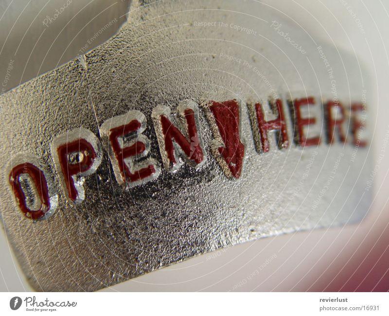 OpenHere leer Küche Flasche Griff aufmachen