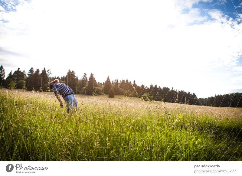 Philippe - to the sky elegant Freude Ferien & Urlaub & Reisen Tourismus Ausflug Abenteuer Ferne Mensch maskulin Mann Erwachsene Körper Kopf Haare & Frisuren