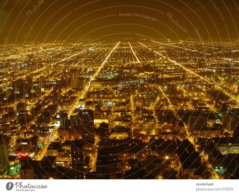 Licht An, Licht Aus, Licht An, ... Straße Lampe Architektur USA Amerika Chicago