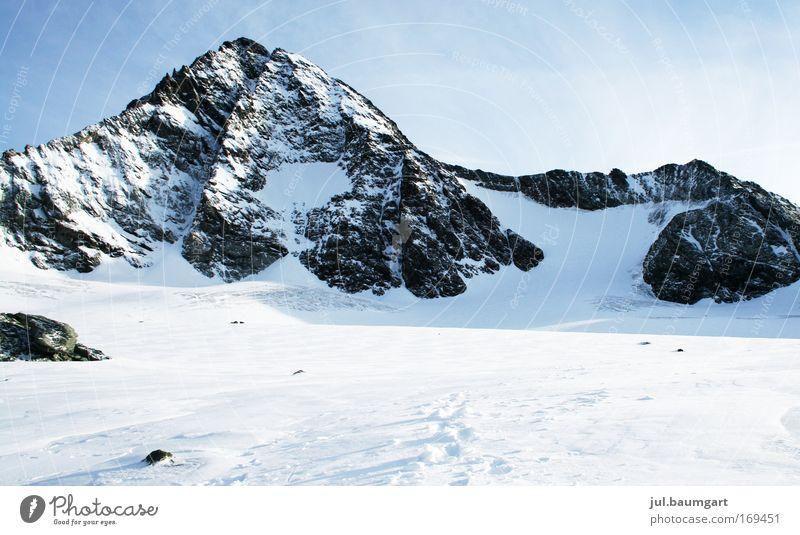 Großglockner Natur Ferien & Urlaub & Reisen Winter Ferne Umwelt Landschaft Schnee Berge u. Gebirge Freiheit Wetter Felsen groß Ausflug Lifestyle Klettern