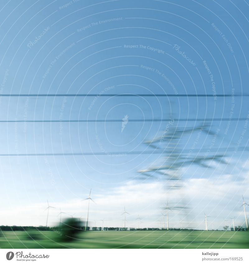 zeitgeist Himmel Natur Pflanze Landschaft Tier Umwelt Horizont Luft Wind Verkehr Klima Energiewirtschaft groß Zukunft Eisenbahn Technik & Technologie
