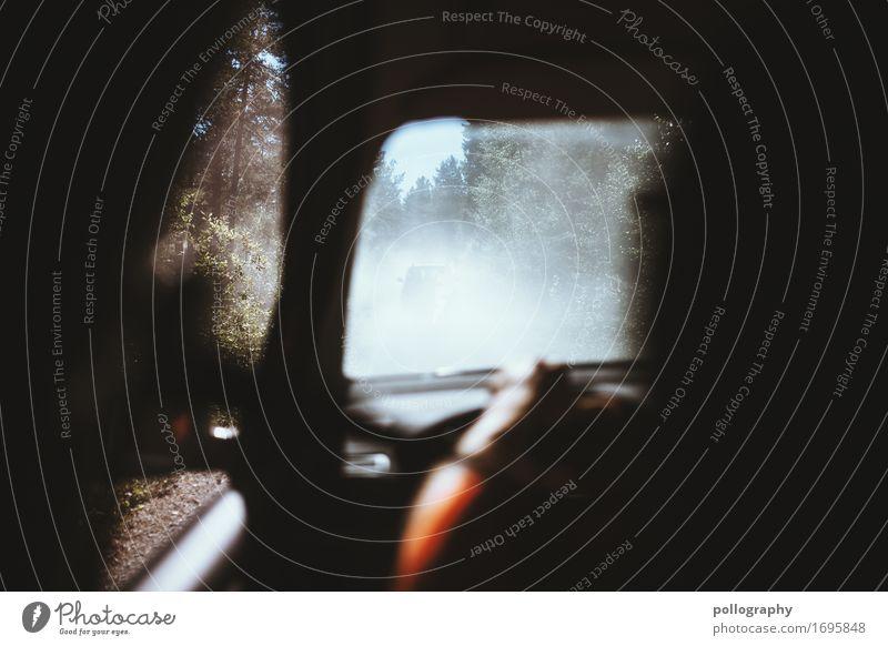 nowhere in norway (7) Lifestyle Mensch maskulin Mann Erwachsene Körper 1 18-30 Jahre Jugendliche Natur Landschaft Schönes Wetter Wind Verkehr Verkehrsmittel