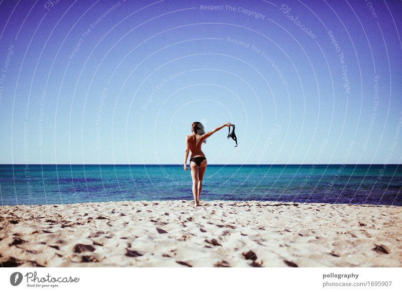 on the top Lifestyle Stil Leben Wohlgefühl Zufriedenheit Freizeit & Hobby Ferien & Urlaub & Reisen Ausflug Abenteuer Ferne Freiheit feminin Erwachsene Körper 1