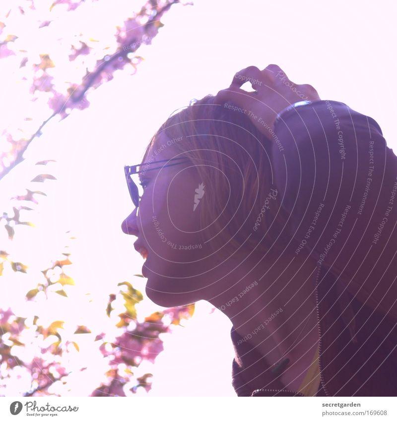 hamburgs next topmodel. Jugendliche Hand schön Ferien & Urlaub & Reisen Sommer Freude Gesicht feminin Kopf Garten Erwachsene Glück Bewegung Park blond Mund