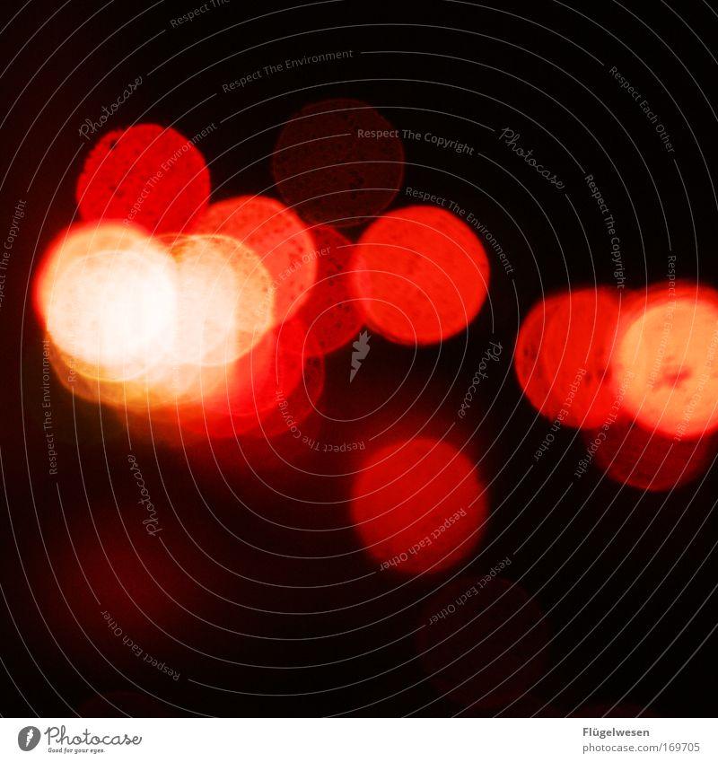 Rotlichtmilieu kann manchmal auch unscharf machen... Farbfoto Außenaufnahme Unschärfe Lifestyle Nachtleben Lounge Diskjockey Blühend leuchten schön Begierde