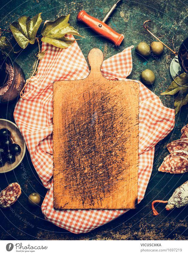 Italienische Lifestyle Lebensmittel Wurstwaren Kräuter & Gewürze Ernährung Mittagessen Abendessen Italienische Küche Getränk Wein Geschirr Flasche Stil Design