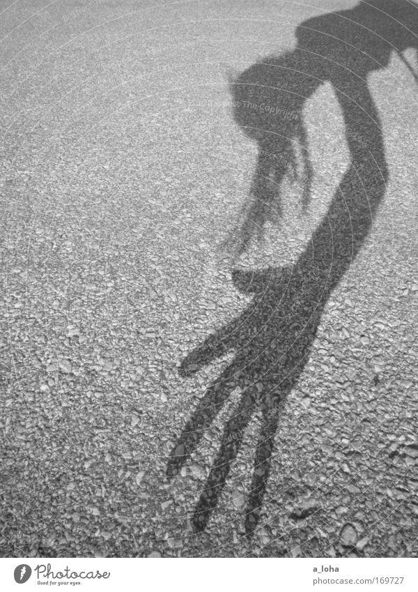 rumpelstilzchen part II Mensch Hand Freude Bewegung grau Kopf Freizeit & Hobby außergewöhnlich Finger Fröhlichkeit Coolness einzigartig streichen berühren dünn