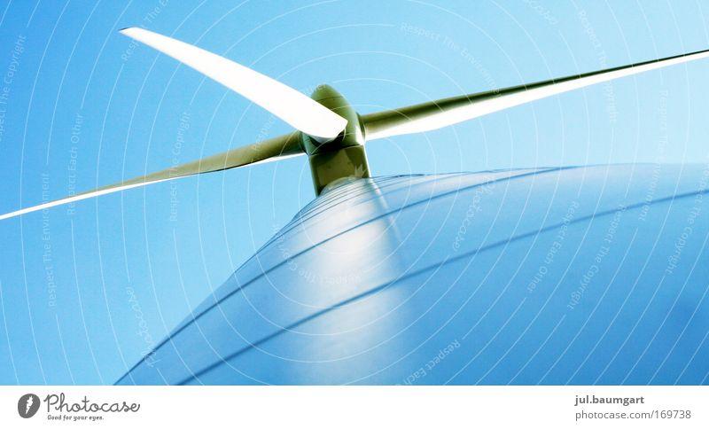 Windkraftwerk Umwelt Industrie Energiewirtschaft Windkraftanlage drehen Wirtschaft Arbeitsplatz Erneuerbare Energie