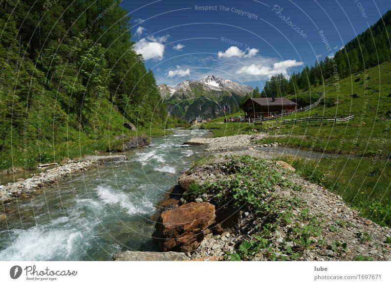 Malfonalm 3 Zufriedenheit ruhig Ferien & Urlaub & Reisen Tourismus Ausflug Ferne Freiheit Sommer Sommerurlaub Berge u. Gebirge wandern Umwelt Natur Landschaft