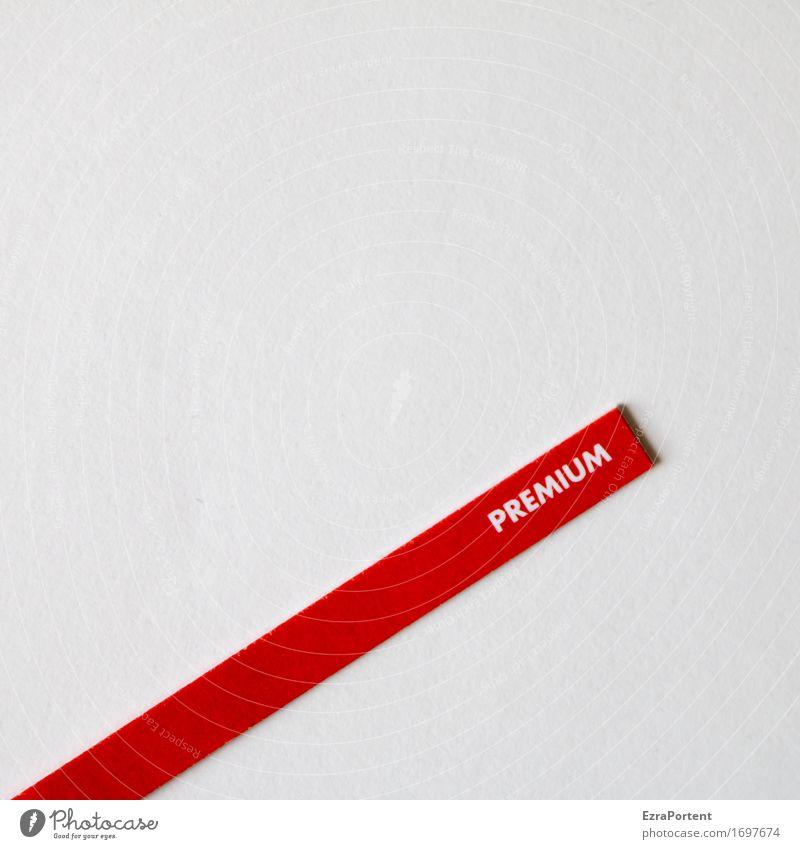 immer noch möglich - jetzt Premium holen Zeichen Schriftzeichen Schilder & Markierungen Hinweisschild Warnschild rot weiß Design Farbe kaufen Handel Werbung
