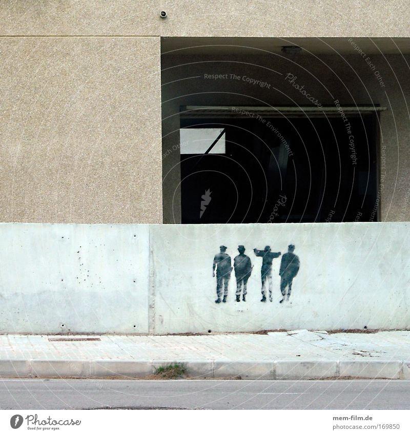 Freunde Graffiti Kunst Freundschaft Musik Beton Spanien Figur Mallorca Demonstration Straßenkunst Hiphop Versammlung Tagger