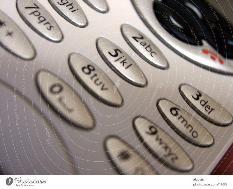 keys & display Telefon Telekommunikation Dinge berühren Handy Anzeige