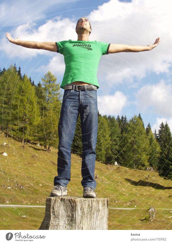 Free Mensch Natur Freiheit frei
