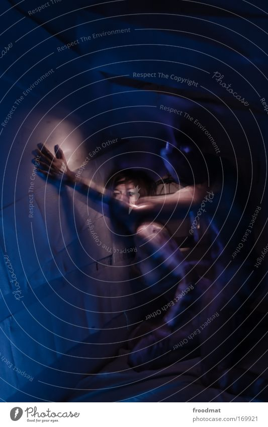 astrometrische doppelsterne Mensch Jugendliche blau Liebe Akt Erotik nackt feminin Gefühle Sex Paar Kunst Haut Erwachsene maskulin ästhetisch