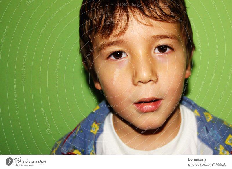 elias. Kind grün schön Gesicht Leben Gefühle Junge Kraft maskulin außergewöhnlich ästhetisch authentisch Perspektive leuchten süß Hoffnung