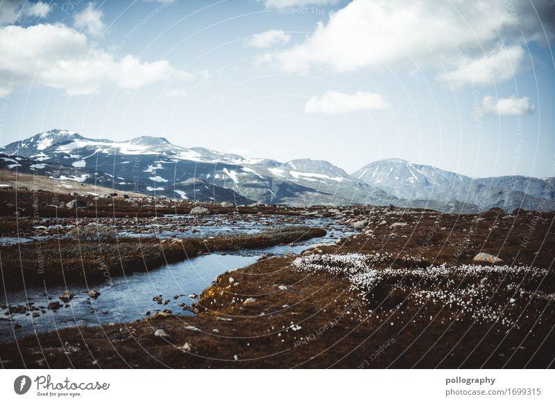 landscape Ferien & Urlaub & Reisen Ausflug Abenteuer Ferne Freiheit Sightseeing Natur Landschaft Erde Wasser Himmel Wolken Herbst Winter Schönes Wetter Wiese