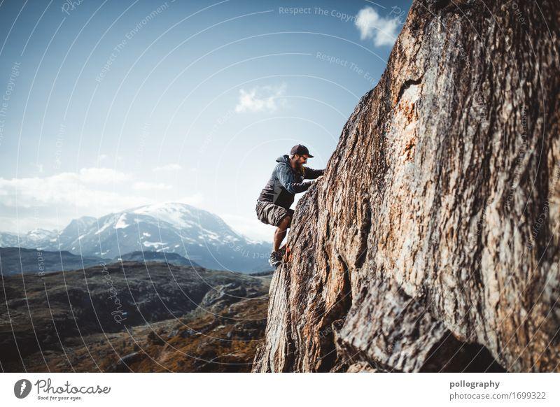 Climbing Lifestyle Leben Freizeit & Hobby Ferien & Urlaub & Reisen Tourismus Ausflug Abenteuer Freiheit Sightseeing Expedition Berge u. Gebirge wandern Fitness