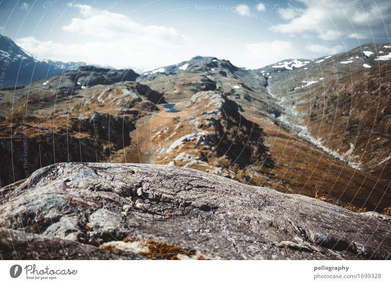 nowhere in norway (9) Lifestyle Ferien & Urlaub & Reisen Tourismus Ausflug Abenteuer Ferne Freiheit Expedition Camping Sommer Sommerurlaub Berge u. Gebirge