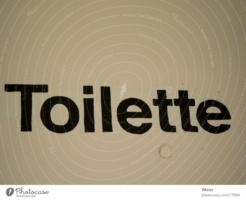 Toilette Ernährung Stil modern