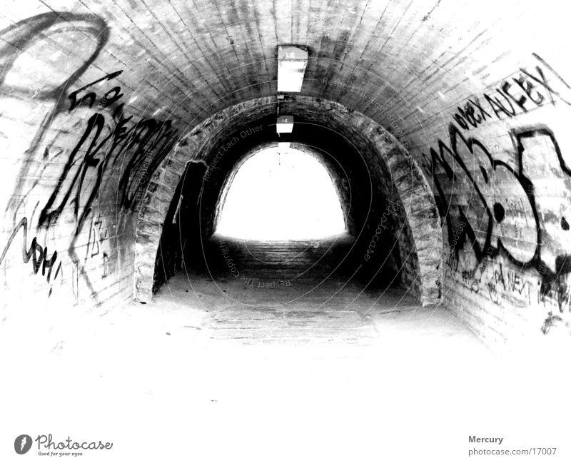 Tunnelblick Licht Fototechnik Graffiti Writing Tod Ende