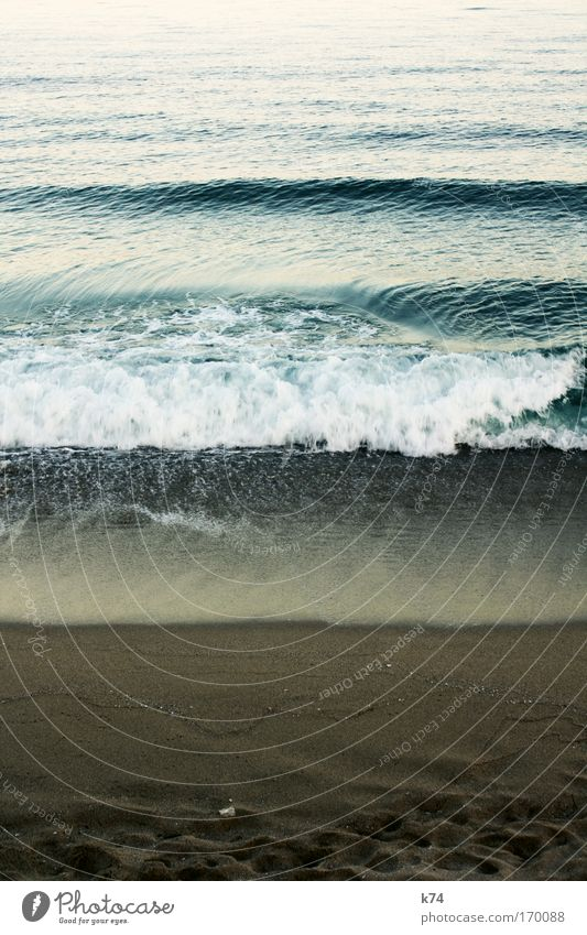 shore Meer See Wasser Strand Sand Ferien & Urlaub & Reisen Sommer Brandung
