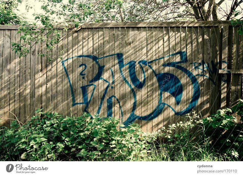 Barrierefreiheit Natur Pflanze Einsamkeit Leben Gefühle Freiheit träumen Traurigkeit Graffiti Umwelt Perspektive Abenteuer Zukunft Kommunizieren Schriftzeichen