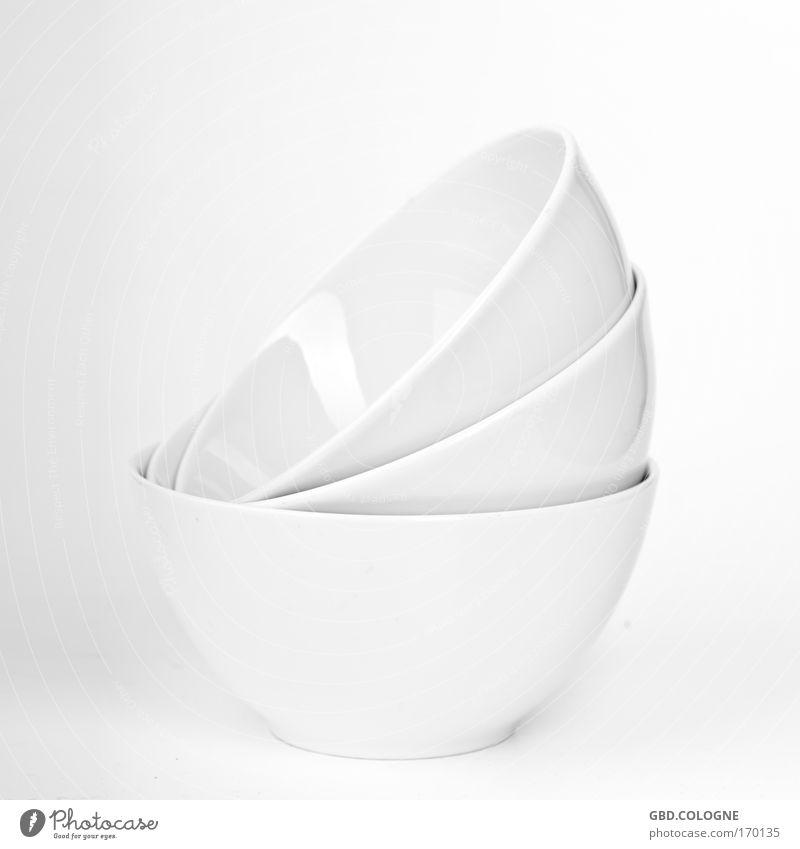 Polterabendgeschirr weiß Ernährung hell modern neu Küche Sauberkeit Geschirr Keramik Schalen & Schüsseln Porzellan Porzellanschalen