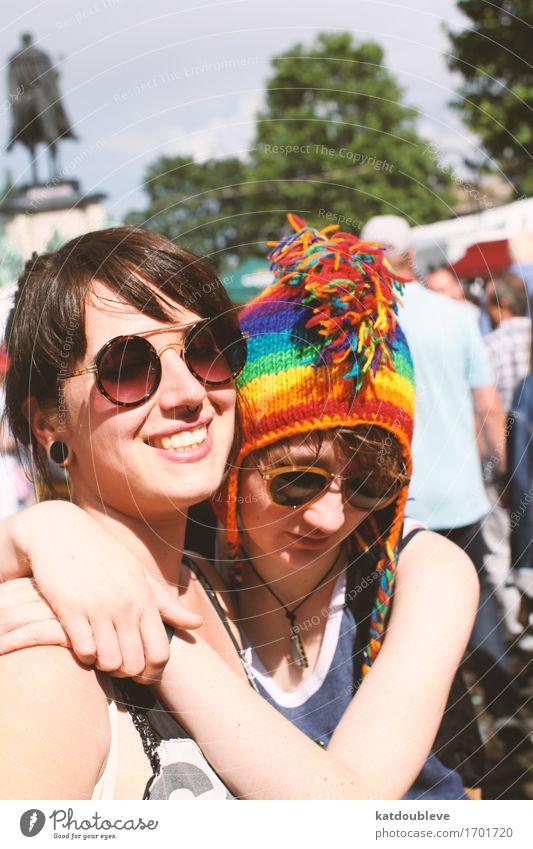 gay day feminin Homosexualität Erholung lachen Liebe Zusammensein Glück schön natürlich Verliebtheit Lust Sex Menschlichkeit Solidarität Verantwortung