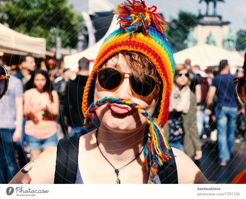 Playdyke Mensch feminin androgyn Homosexualität Coolness frech frei Glück einzigartig lustig Solidarität Fortschritt Freude Leichtigkeit Liebe protestieren Sex
