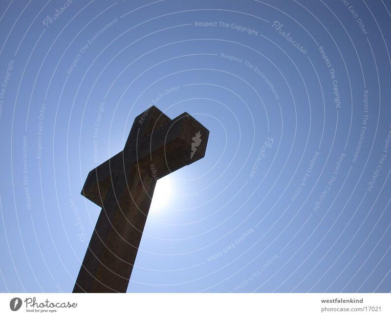 Heavens Gate Himmel Sonne blau Religion & Glaube Metall Rücken Wissenschaften Christentum Friedhof