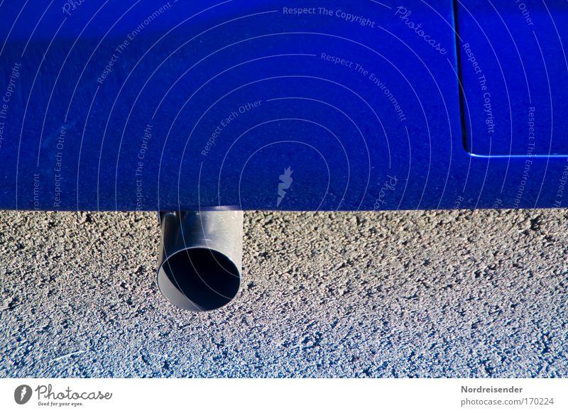 Schornstein blau Freude Straße Kraft Design modern Erfolg ästhetisch verrückt Geschwindigkeit PKW Lifestyle Coolness einzigartig fahren Show