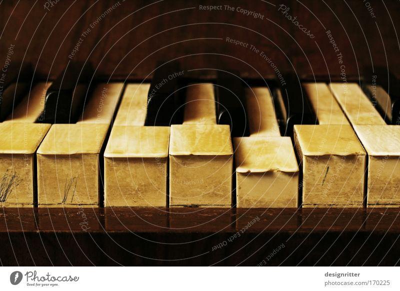 Schauermusik Farbfoto Innenaufnahme Nahaufnahme Detailaufnahme Menschenleer Kunstlicht Möbel Wohnzimmer Dachboden Musik Bar Cocktailbar Finger Konzert Klavier