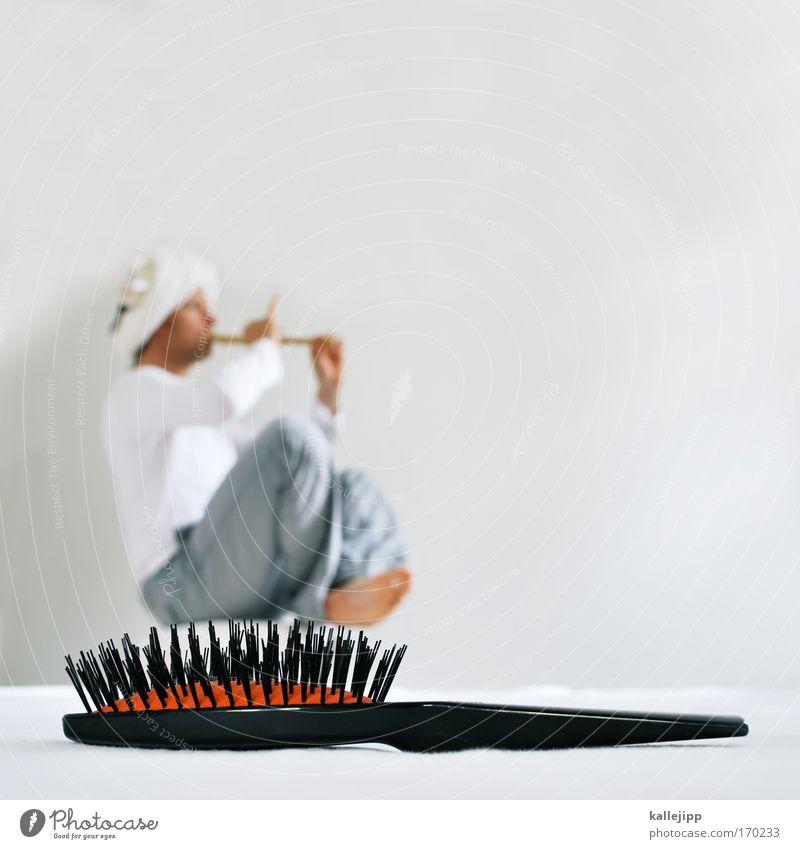 fake fakir Mensch Mann Ferien & Urlaub & Reisen schön ruhig Erwachsene Erholung Leben Spielen Haare & Frisuren Musik Beruf Zufriedenheit Morgen maskulin Tourismus
