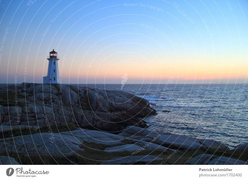 Peggy´s Cove Ferien & Urlaub & Reisen Ferne Freiheit Sommer Meer Insel Umwelt Natur Landschaft Wasser Wolkenloser Himmel Horizont Schönes Wetter Felsen Küste