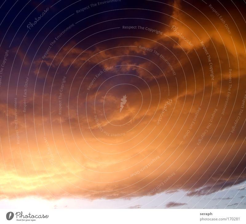 Wetterfront Himmel Natur Himmel (Jenseits) Wolken Hintergrundbild Luft Ordnung Wind Leichtigkeit sanft Gewitter Glätte Atmosphäre Wetter Kumulus Gewitterwolken